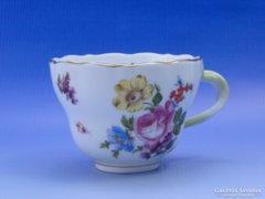 0C510 Antik FISCHER EMIL porcelán teáscsésze