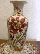 Zsolnay Gyönyörű Orchideás Váza