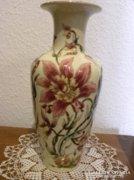 Zsolnay Gyönyörű Orchideás Váza - JUBILEUMI