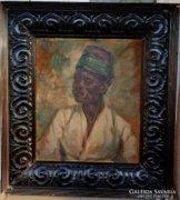 Makó Bertalan Festmény