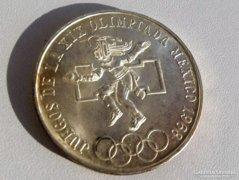 25 peso-1968 Mexikói Olimpia emlékpénz
