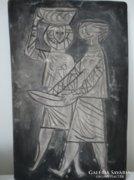 Modern kerámia falikép 1969-ből