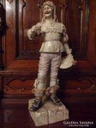 Eichwaldi porcelán spanyol csizmás figura