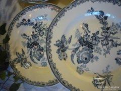 Antik, fajansz tányérok - Sarreguemines