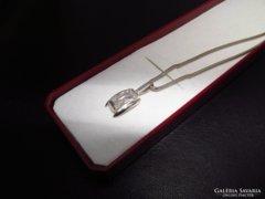 Ezüst nyaklánc + ezüst medál