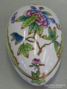 Antik Herendi  bonbonier Viktória mintával