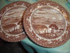 Angol süteményes tányér 2darab