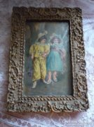 Antik kép keret