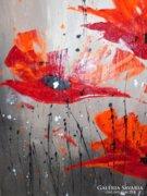 Festmény kortárs szentendrei művésztől - Piszkátor Ildikó