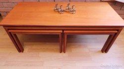 3 darabos Retro asztal garnítúra