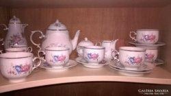 Hollóházi teás készlet
