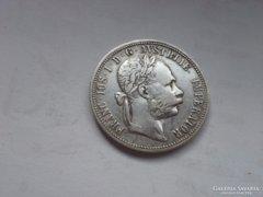 1889 ezüst 1 Florin ritkább évszám