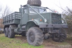 Katonai teherautó Kraz 255 b