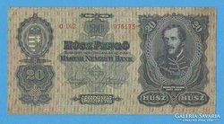 20 pengő 1930.  VF+