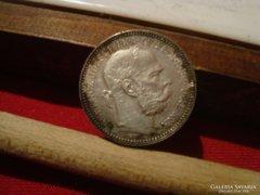 1894-as 1 korona XF-AUNC!!!