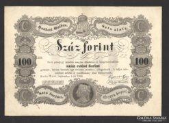 100 forint 1848.   GYÖNYÖRŰ!!!