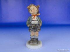 0E547 Antik Hummel porcelán kisfiú TMK 3
