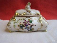 Herendi barokk ékszer tartó(Viktória mintás)