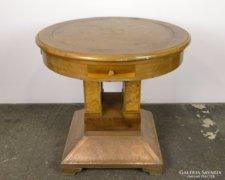 0F004 Antik osztrák kártyaasztal játékasztal