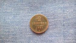 2 kreuzer 1851 A jellzésű