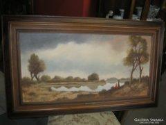 Csáky Lajos szép festménye eladó