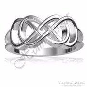 Ezüst végtelen gyűrű