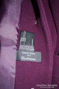 Csinos női kabát gyapjú kasmír lila 42-44-es