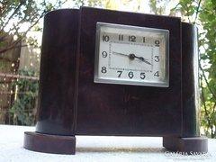 Art Deco asztali óra pénzbedobós-ritka !