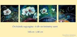 Orchideák ragyogása 160 x 40 cm INGYEN POSTA