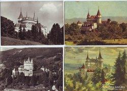 Bajmóc vára - régi képeslapokon