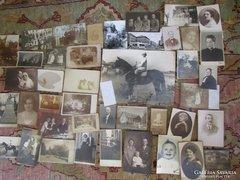 FOTÓ FÉNYKÉP 42 darabos gyüjtemény 1918 -tól