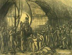 Sárkány Lóránd : Történelmi jelenet
