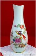 Hollóházi váza paradicsom madaras