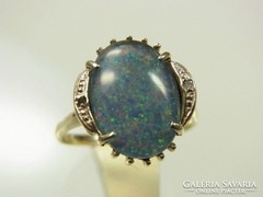 14 vintage arany gyuru 1970-bol opal es gyemantokal akcio!!!