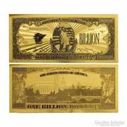24 karátos arany bevonatú dollar