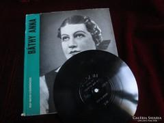 RÁTHY ANNA OPERA ÉNEKESNŐ könyv +2+1 lemez