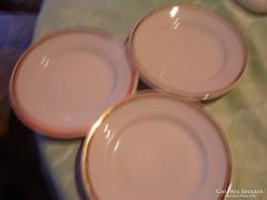 Zsolnay süteményes  tányér  3 darab