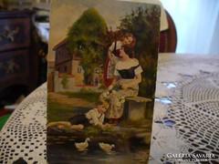 Romantikus képeslap