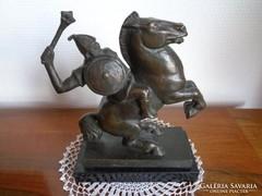 Csúcs Ferenc ,,harcos Bronz szobra / 1905- 1999 /