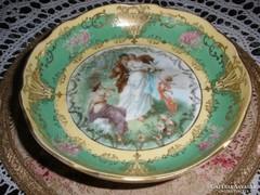 Bécsi porcelán, lábas tálka