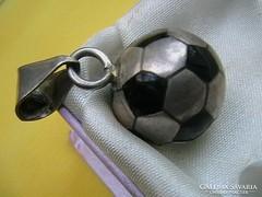 Régi ezüst focilabda medál, 11,6gr