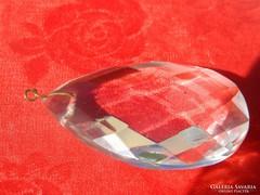 Nagyméretű kristály - kristálylámpa alkatrész