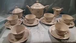 Antik szecessziós Zsolnay teás készlet