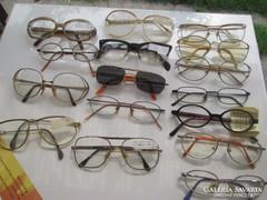 Retro  SZTK  szemüvegek 16 db