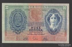 20 korona 1907.  GYÖNYÖRŰ!!!  RITKA!!!