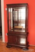 Art Deco vitrin 2 ajtós alsó résszel