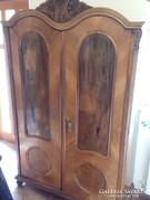 Barokk 2 ajtós szekrény