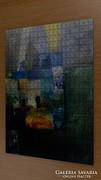 Puzzle - kortárs művész festménye a kirakón