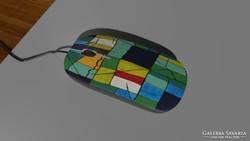 Kortárs művész festménye a számítógép egerén 4.