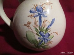 Kézzel festett kerámia kancsó 10 cm 0525
